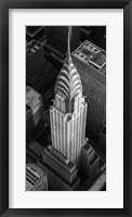 Framed Chrysler Building, NYC