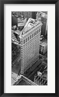 Framed Flatiron Building, NYC