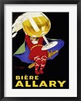 Framed Biere Allary, 1928