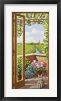 Framed Finestra sulla Campagna