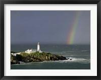 Framed Rainbow over Fanad-Head, Ireland