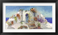 Casa nelle Cicladi Framed Print