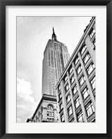Framed New York Sky