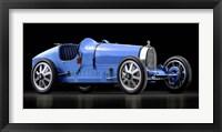 Framed Bugatti 35