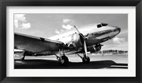 Framed Vintage Airplane