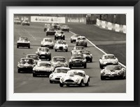 Framed Silverstone Classic Race