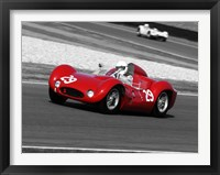Framed Historical Race Cars 1