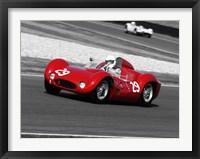 Framed Historical Race Cars 1