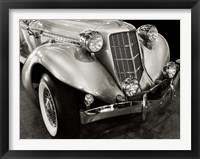 Framed Vintage Roadster