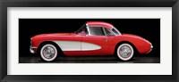 Framed Corvette Chevrolet