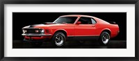 Framed Ford Mustang Mach 1