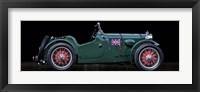 Framed MC Race Car
