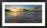 Framed Baie Beau Vallon, Seychelles