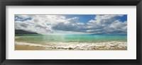 Framed Baie Beau Vallon, Mahe, Seychelles