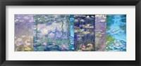 Waterlilies I Framed Print