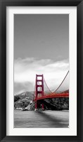 Framed Golden Gate Bridge I, San Francisco