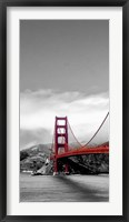 Golden Gate Bridge I, San Francisco Framed Print
