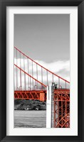 Framed Golden Gate Bridge III, San Francisco