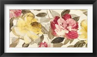 Framed Velvet Flowers