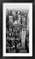 Skyscrapers in Manhattan II Framed Print