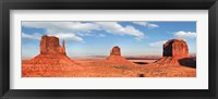 Framed View to the Monument Valley, Arizona