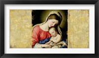 Holy Virgin (After Sassoferrato) Framed Print