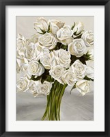 Framed Bouquet Blanc II