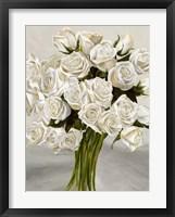 Framed Bouquet Blanc II