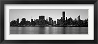 Framed Midtown Manhattan Skyline, NYC 1