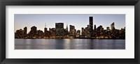 Framed Midtown Manhattan Skyline, NYC 2