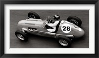 Framed Historical Race Car at Grand Prix de Monaco 1