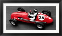 Framed Historical Race Car at Grand Prix de Monaco 2