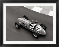 Framed Historical Race Car at Grand Prix de Monaco 3