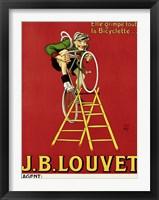 Louvet Bicycles Framed Print