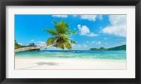 Framed Tropical Beach, Seychelles