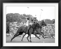 Framed Polo Players, Argentina