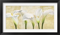 Callas on Gold (neutral variation) Framed Print