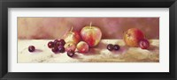 Cherries and Apples Framed Print