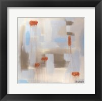 Abstract Diptych I Framed Print