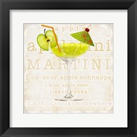 Appletini Framed Print