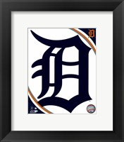 Framed 2016 Detroit Tigers Team Logo