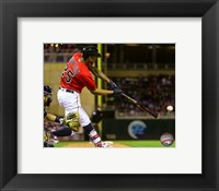 Framed Byron Buxton 2016 Action