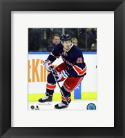 Framed Chris Kreider 2015-16 Action
