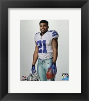 Framed Ezekiel Elliott 2016 Posed