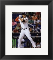 Framed Giancarlo Stanton 2016 Action