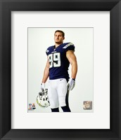 Framed Joey Bosa 2016 Posed