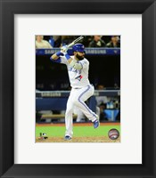 Framed Jose Bautista 2016 Action