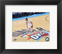 Framed Kevin Durant 2016 NBA Playoff Action