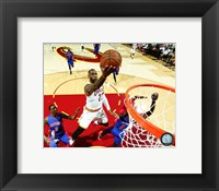 Framed LeBron James 2016 NBA Playoff Action