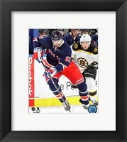 Framed Rick Nash 2015-16 Action